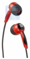 Наушники Defender Basic-604 красные вкладыши 1,1 м (63605)