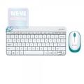 Комплект Logitech MK240 Wireless Combo white USB (920-005791)