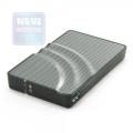 """Внешний корпус AgeStar 3UB2P USB3.0 to 2,5"""" SATA HDD/SSD silver алюминий, безвинтовая конструкция"""