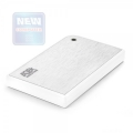"""Внешний корпус AgeStar 3UB2A14 USB3.0 to 2,5""""hdd SATA алюминий white безвинтовая конструкция"""