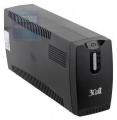 Источник бесперебойного питания 3Cott 800VA-3SE 480W AVR 3*Shuko линейно-интерактивный