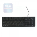 Клавиатура Gembird KB-8340U-BL black USB