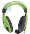 Гарнитура Defender HN-750 Gryphon зелёная, кабель 2,0м (63749)