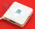 Разветвитель USB 2.0 5bites HB24-202WH 4*USB2.0 / USB 60CM / WHITE