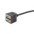 Разветвитель VGA 1-2 Gembird CC-VGAX2-20CM