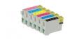 Картриджи перезаправляемые INKO Epson Photo T0811-T0816 / T0821-T0826 для принтеров Epson Stylus Photo R270/ T50/ TX650