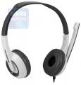 Гарнитура Defender Esprit 055 серый, кабель 2 м (63055)