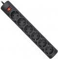 Сетевой фильтр Defender DFS 151 1.8 метра 6 розеток чёрный (99494)