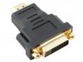 Переходник DVI-D--HDMI Vcom 25F/19M позолоченные контакты [VAD7819]