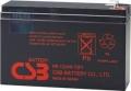 Батарея аккумуляторная CSB HR1224W, 12V/5,5Ah