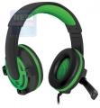 Гарнитура Defender G-300 Warhead зеленый, кабель 2.5м (64128)