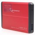 """Внешний корпус Gembird EE2-U3S-2 2,5"""" красный SATA USB3.0"""