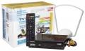 Комплект для цифрового телевидения Рэмо TV Future Indoor (DVB-T2), ресивер + антенна внутренняя