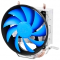 Вентилятор DeepCool GAMMAXX 200T S1150/1155/S1156/S775/AM2/AM2+/AM3/FM1 120mm PWM 2 тепл. трубки прямого контакта.