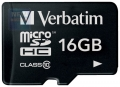 Карта памяти microSDHC 16Gb Verbatim Class 10
