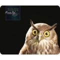 Коврик для мыши Dialog PM-H15 owl - черный с рисунком совы