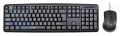 Комплект клавиатура + мышь Oklick 600M black USB