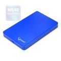 "Внешний корпус 2,5"" Gembird EE2-U2S-40P-B синий SATA USB2.0"