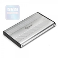 "Внешний корпус 2,5"" Gembird EE2-U2S-5-S серебристый SATA USB2.0"