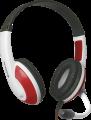 Гарнитура Defender G-120 красный/белый Warhead, кабель 2м (64098)