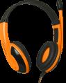 Гарнитура Defender G-120 черный/оранжевый Warhead, кабель 2м (64099)