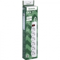 Сетевой фильтр Defender DFS 151 1.8 метра 6 розеток белый (99489)