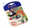 Флеш диск 32Gb Verbatim Mini Tattoo Edition, Феникс (49898)