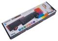 Комплект клавиатура+мышь Dialog KMROK-0318U black USB беспроводной