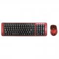 Комплект клавиатура+мышь Dialog KMROK-0318U red USB беспроводной