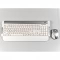 Комплект Dialog KMROK-0517U white USB беспроводной
