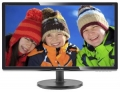 "Монитор 20.7"" Philips 216V6LSB2/62(10) LED, LCD, 1920x1080, 5 ms, 90°/65°, 200 cd/m, 10M:1 Black"