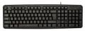 Клавиатура Oklick 130M black USB Standard