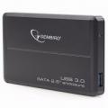"""Внешний корпус 2,5"""" Gembird EE2-U3S-2 черный SATA USB3.0"""