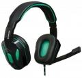 Гарнитура Defender G-275 Warhead зеленый/черный кабель 1,8м (64122)