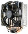 Вентилятор Crown CM-4 PWM для Intel и AMD, 4 теплопроводных трубок, синяя подсветка