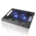 """Подставка для ноутбука Crown CMLS-937 black 15,6"""", 2*fan, blue light"""