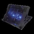 """Подставка для ноутбука Crown CMLS-940 black 15,6"""", 2*fan, blue light, 2*USB"""