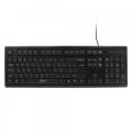 Клавиатура Gembird KB-8353U-BL black USB 105кл.