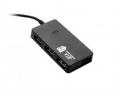 Разветвитель USB 2.0 Jet.A JA-UH7 на 4 порта USB 2.0, чёрный