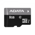 Карта памяти microSDHC 8Gb A-Data Class 10 UHS-I (AUSDH8GUICL10-R)