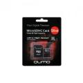 Карта памяти microSDHC 16Gb Qumo Class 10 UHS-I ,3.0+ SD Adapter (QM16GMICSDHC10U1)