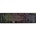 Клавиатура Dialog KK-L02U black Katana-Multimedia. с подсветкой клавиш, USB