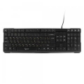 Клавиатура Gembird KB-8352U-BL black USB 105кл.