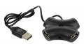 Разветвитель USB 2.0 CBR CH 100 black