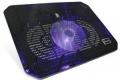 """Подставка для ноутбука Crown CMLC-M10 black до 17"""", 1*fan, LED подсветка синяя"""