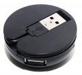 Разветвитель USB 2.0 5bites HB24-200BK