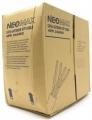 Кабель сетевой UTP 5e 305m Neomax [NM10031] Медь, неэкранированная, одножильный , 4 пары, 0,51 мм, для внешней прокладки