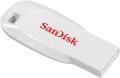 Флеш диск 16Gb SanDisk Cruzer Blade CZ50 White (SDCZ50C-016G-B35W)