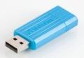 Флеш диск 32Gb Verbatim PinStripe Синий (49057)