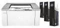 Принтер лазерный A4 HP LaserJet Ultra M106w +3 Картриджа (G3Q39A#B09)